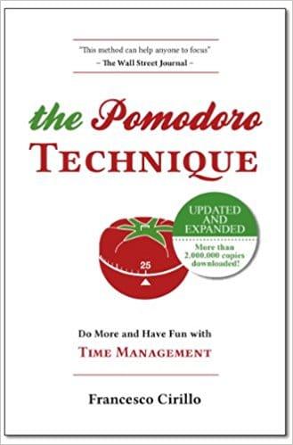 טכניקת הפומודורו (The Pomodoro Technique)