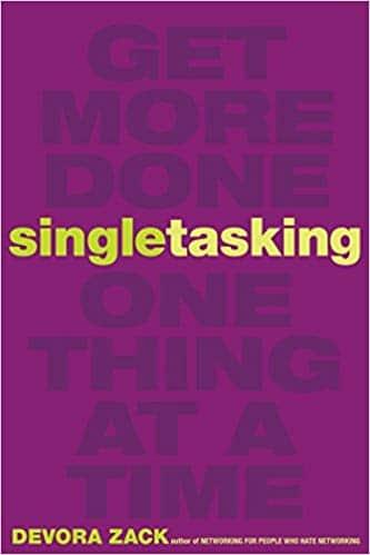 מטלה אחת כל פעם (Single tasking)